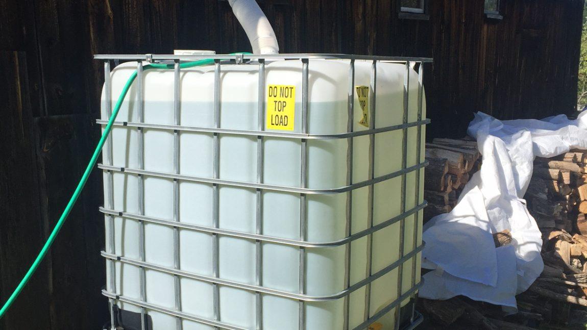 Capturing, Storing & Irrigating with Rain Water